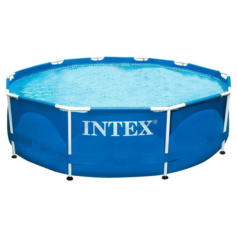 Alberca intex metal frame 305x76 56998 28201 poolaria m xico for Albercas intex precios