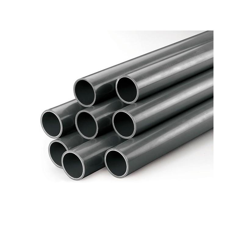 tubo pvc presi n pn10 gris r gido d50 d200 poolaria m xico