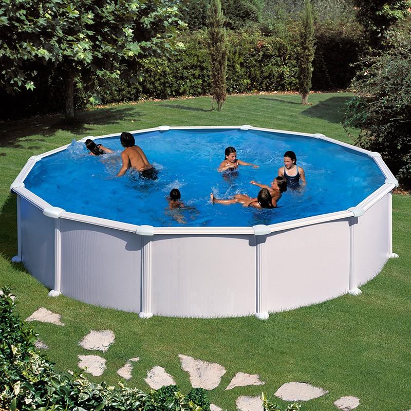 piscina gre circular acero chapa blanca poolaria m xico